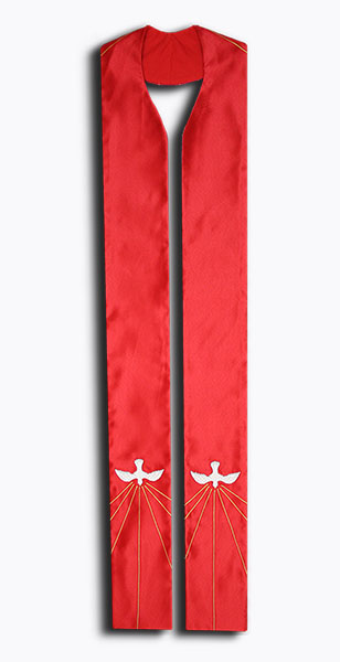Photograph of Holy Spirit Clergy Stole
