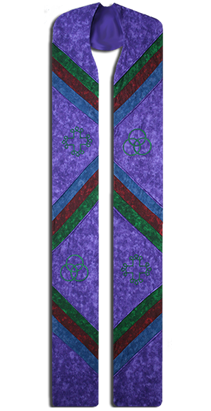 Photograph of Majestic Clergy Stole