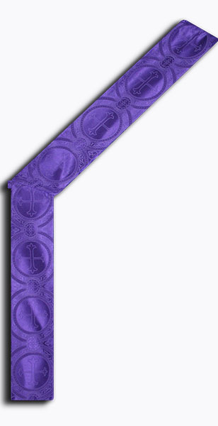 Photograph of Paschal Deacon Stole - Purple