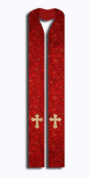 Photograph of Cosmic Celebration Clergy Stole